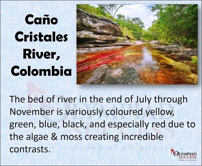 Cano Cristales River, Columbia