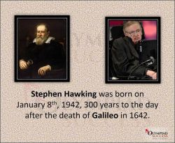 Stephen Hawking and Galileo