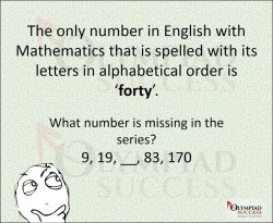 Interesting fact about 40
