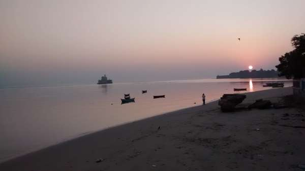 Sun Rise At Sea Fort - My Click My Pick